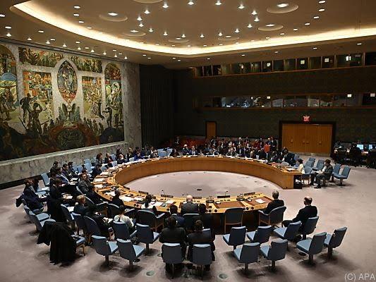 Der UNO-Sicherheitsrat hielt eine Sondersitzung ab